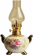 YDXL01 Kerosene Lamp Antique Kerosene Lamp Ceramic