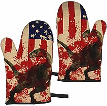 Ye Hua Retro Red American Flag Dinosaur Furniture