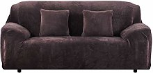 Yeahmart Thick Sofa Covers 1/2/3 Seater Pure Color