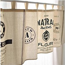 Yeanee Short Curtains for Cafe, Kitchen Curtains