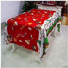 Yeaser Tablecloth Christmas Table Covers Protector