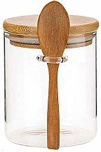 YeBetter Glass Food Airtight Canister Castor