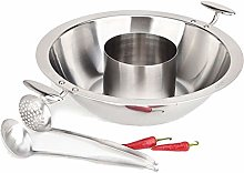 YECHUI Hot Pot 304 Stainless Steel Thick Composite