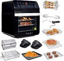 Yedi Total Package Air Fryer Oven XL, 12 Liters,
