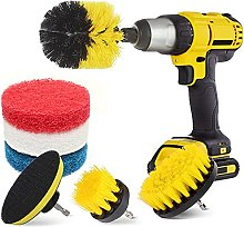 Yeelua Drill Brush Attachment Set, All-Purpose