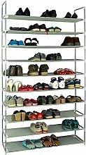 Yeeren 10 Layers Shoe Rack Shelves with Ultra