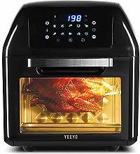 YEEYO Electric Air Fryer Rotisserie Oven, Digital