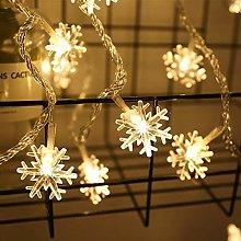 YELITE Christmas Window Curtain Star Lights 6m 40