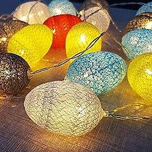 Yelite Easter Eggs String Lights, Led Eggs Lights