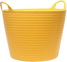Yellow 15L Flexi Tub Mixing Bucket Container 100%