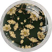 Yellow Beautiful Flowers, Modern Minimalist