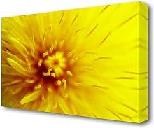 Yellow Beauty Flowers Canvas Print Wall Art East