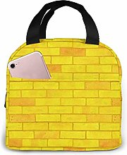 Yellow Brick Road Lunch Bag Reusable Insulated