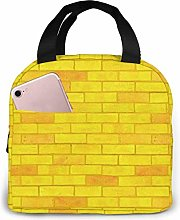 Yellow Brick Road Reusable Lunch Bags Leakproof
