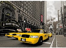Yellow Cab 4.1m x 50cm Wallpaper East Urban Home