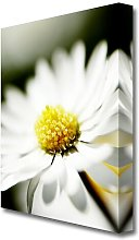 Yellow Centre Flowers Canvas Print Wall Art East
