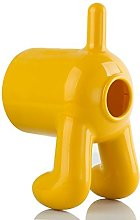Yellow Dog Boby Rear End Toilet Paper Roll Cover &