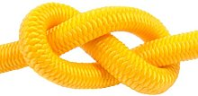 Yellow Elastic Bungee Rope Shock Cord Tie Down