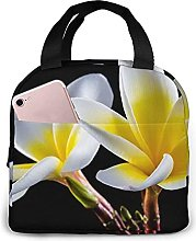 Yellow Gradient Flower Lunch Bag Tote Bag Lunch