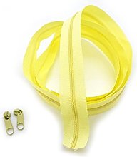 Yellow Light Continuous Zip & Sliders No. 3