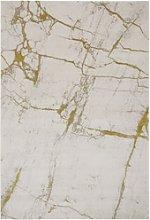 Yellow Marble Rug - 120x170cm