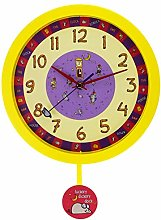Yellow Nursery Rhyme Hickory Dickory Dock Silent