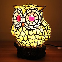 Yellow Owl Table Lamp Children's Lamp Night