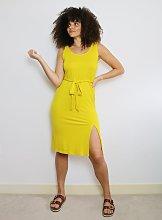 Yellow Rio Midi Dress - 18