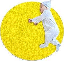 Yellow Rugs Ultra Soft Play Tent Rug Circular Area