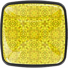 Yellow Square Cabinet Knobs and Pulls, Furniture