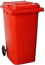 Yellowshield 240 Litre Wheelie Bin - RED (Standard