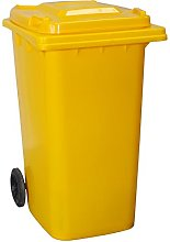 Yellowshield 240L Wheelie Bin - YELLOW (Standard