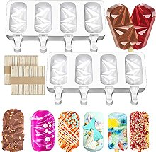 Yemetey Ice lolly mould, 2 pieces silicone ice