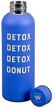 Yes Studio 500Ml Water Bottle - Detox Donut