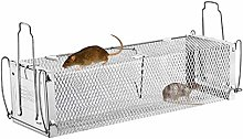yestter 1 x Reusable Mouse Trap, Rat Trap with