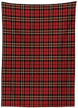 Yeuss Checkered Tablecloth, Scottish British