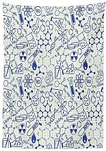 Yeuss Children Tablecloth,Science Chemistry