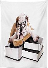 Yeuss English Bulldog Outdoor Tablecloth,Pure