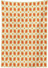 Yeuss Geometric Decor Tablecloth, Linked Bold