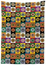 Yeuss Native American Outdoor Tablecloth,Ancient