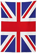 Yeuss Union Jack Tablecloth, Classic Traditional