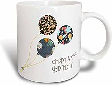 YF-SURINA Mug Happy Th Birthday Modern Stylish