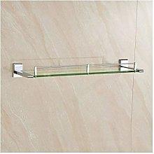 YF-SURINA Shower Caddy Shelf Bathroom Glass