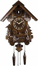 Yfainioo Quartz Cuckoo Clock, Black Forest House,
