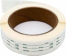 YFairy - Labels Sticker, 1 X 2, 250pcs/roll, Home
