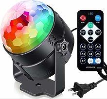 YFAX Remote Control DJ Lighting 6 Color Sound