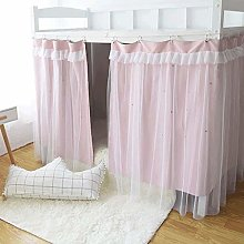 YFF-wz Cabin Bunk Bed Tent Curtain Cloth Dormitory