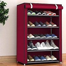 YFH 8 Layer Shoe Rack with zipper Nonwoven Fabric