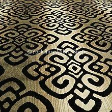 YFS Designer Medallion Modern Pattern Woven Velvet