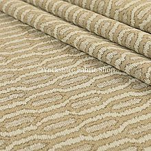 YFS Woven Fabric Funky Modern Brown Beige Colour